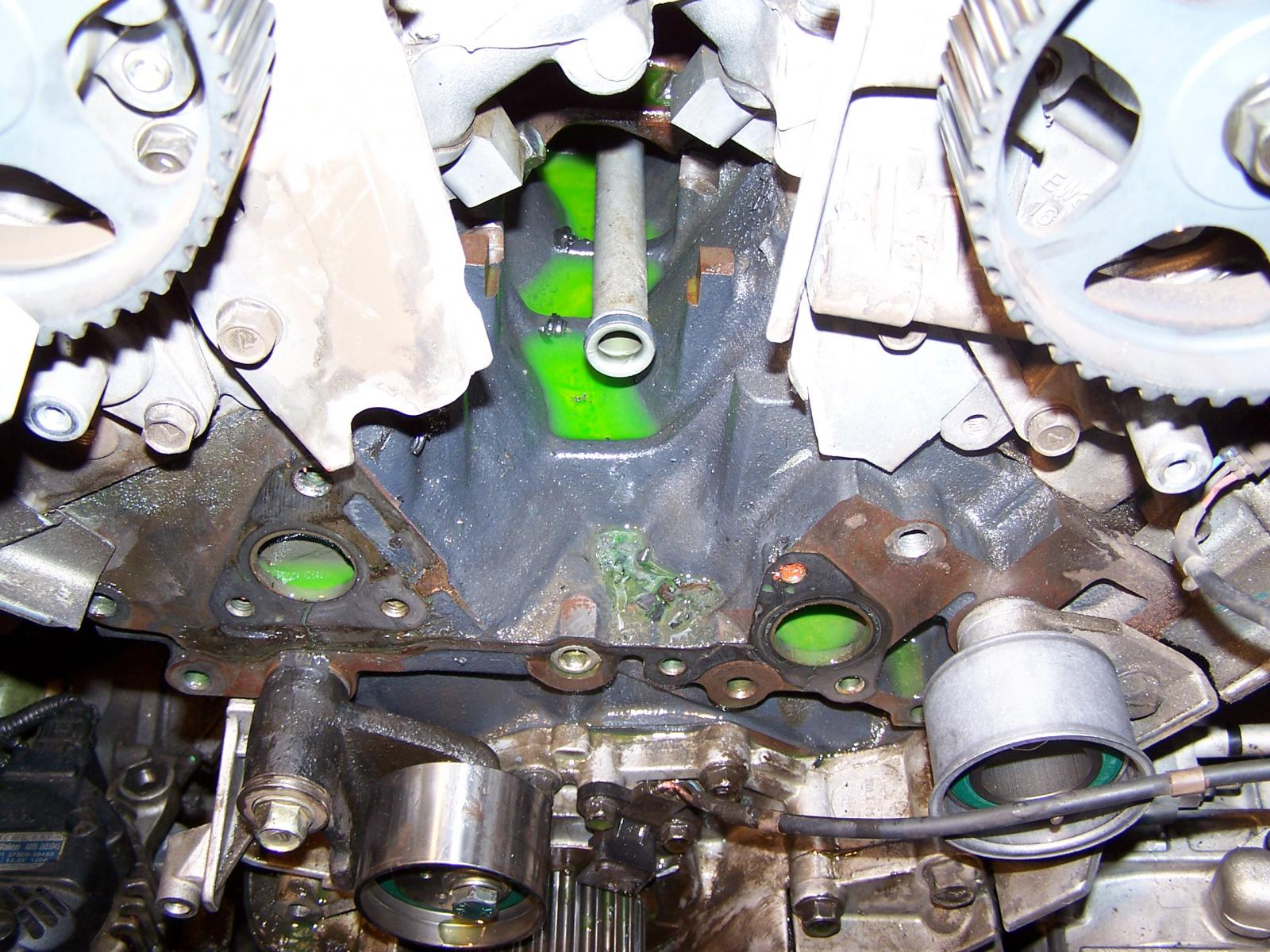 Water Pump Gasket >> Water pump leak or not? - Kia Forum
