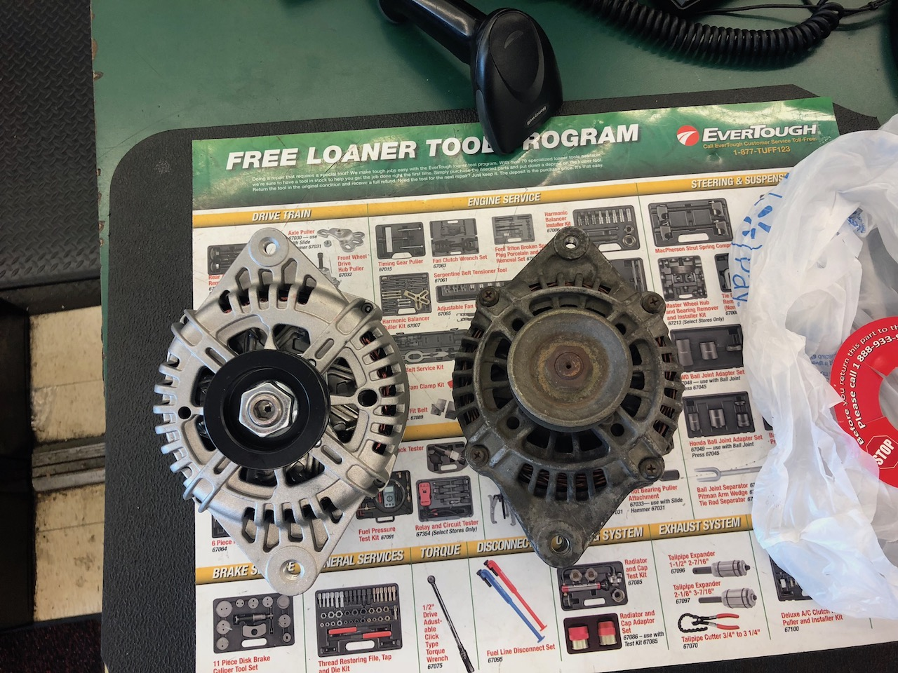 High Output Alternator Swap From Sephia To Sportage Kia Forum Amp Wiring Diagram Click Image For Larger Version Name 110front And 70front Views 80 Size