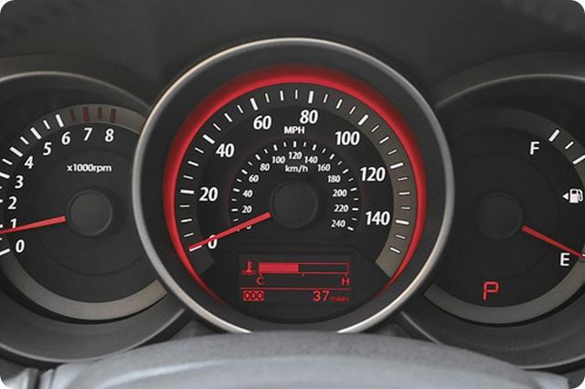 Ex Amp Sx Speedometer Red Back Light Kia Forum
