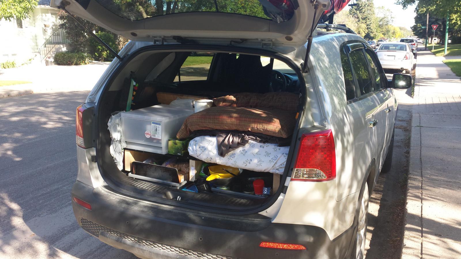 Car Camper Conversion Kia Forum
