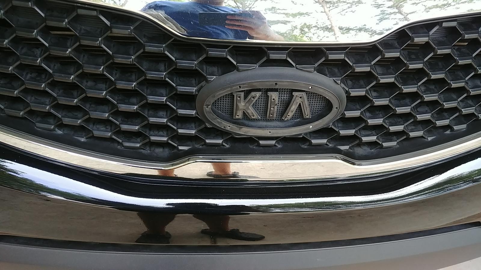 2011 Sorento EX Badge Replacement - Kia Forum