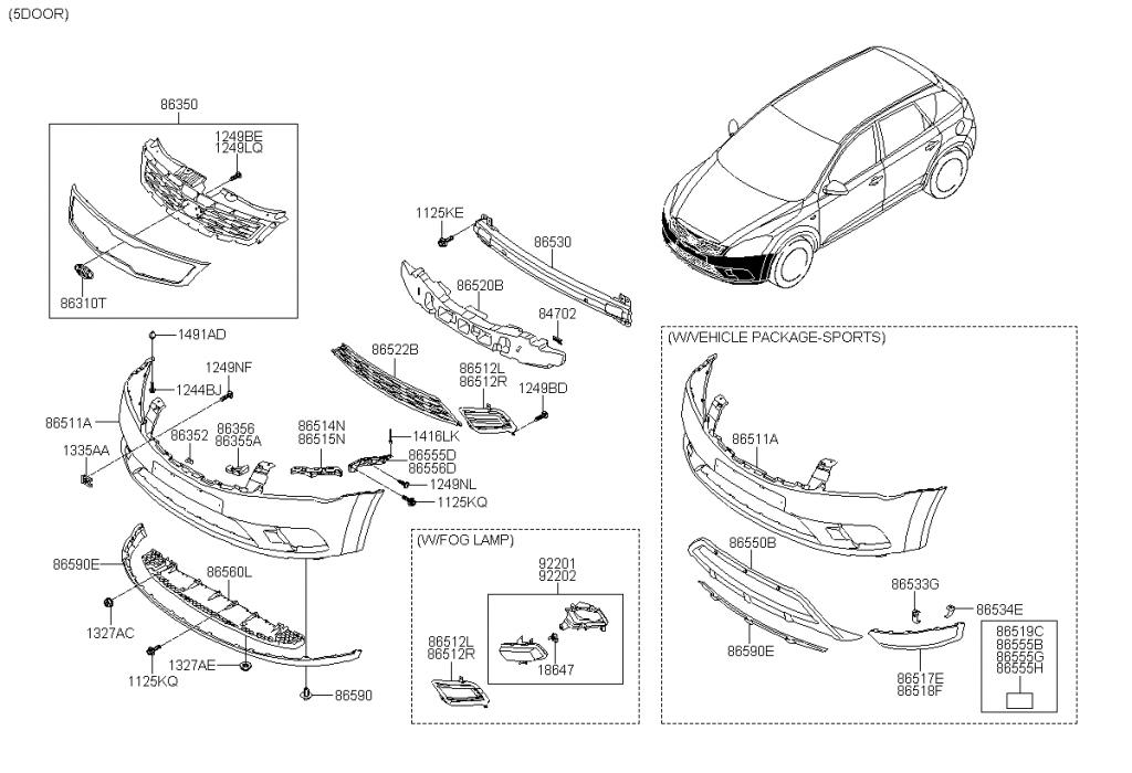 2011 hyundai elantra body parts