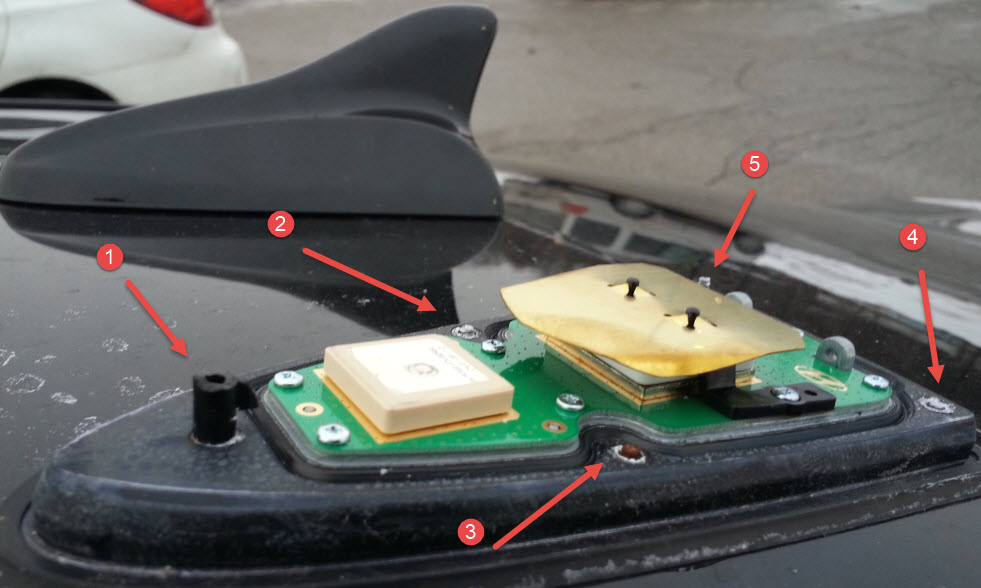 Optima Antenna Cover Broken Kia Forum
