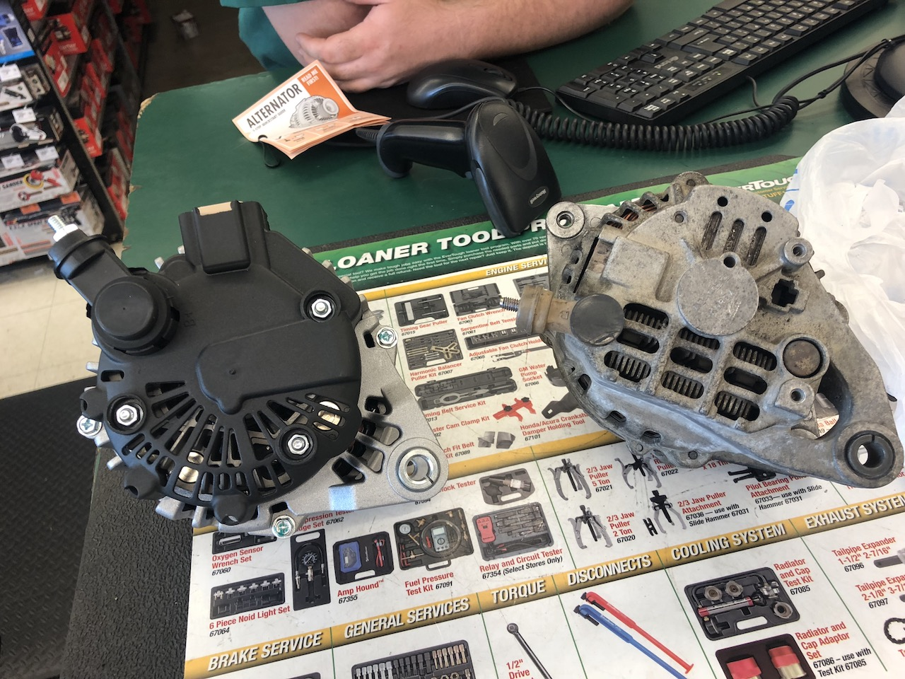 High Output Alternator Swap From Sephia To Sportage Kia Forum Amp Wiring Diagram Click Image For Larger Version Name Backside Comparison Views 91 Size