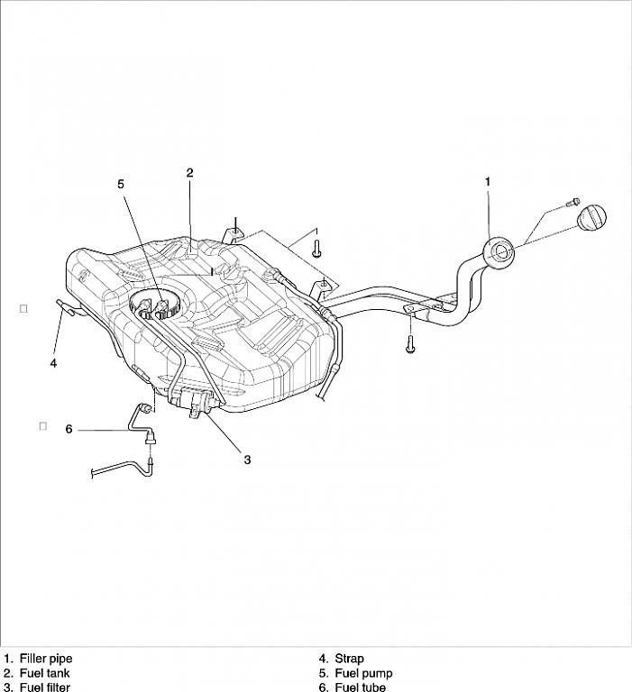 [DIAGRAM_38IS]  2004 Kia Rio Fuel Pump/Filter | Kia Forum | 2004 Kia Optima Fuel Filter Location |  | Kia Forum