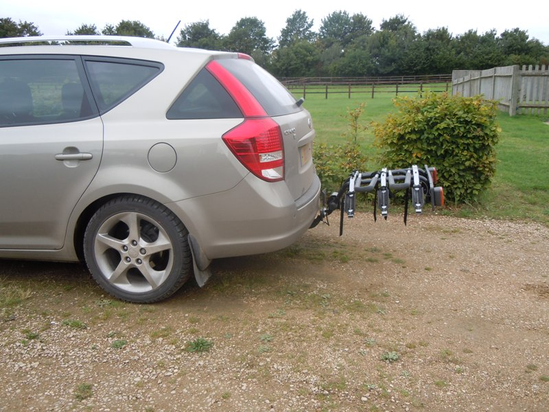 Rear Bike Rack For The Cee D Kia Forum