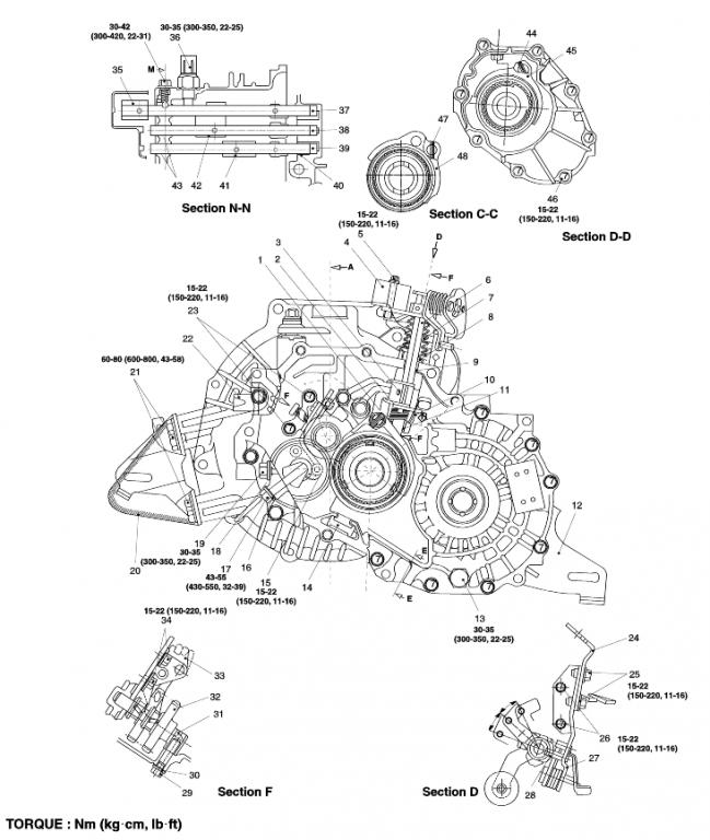 2006 Kia Spectra Parts Diagram