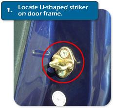 how to fix door lock alignment