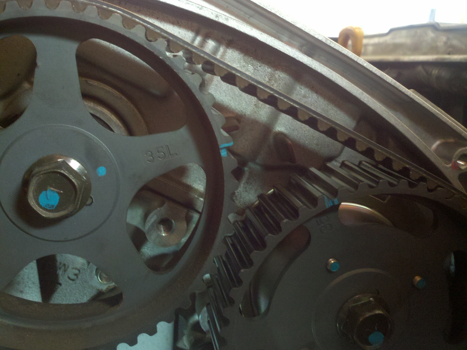 2004 Kia Sedona Timing Mark Diagram Everything About Wiring Motor Mount Marks Not Aligned Need Help Forum Rh Forums Com