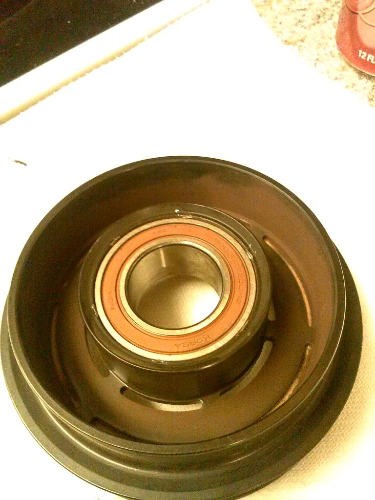 Ac Compressor Clutch Pulley Bearing Replacement Kia Forum 2003 Sedona Serpentine Belt Routing And Timing Diagrams Click Image For Larger Version Name Cam00218 Medium Views 28229