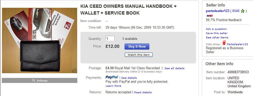 ceed instruction manual and service book in english kia forum rh kia forums com Kia Ceed Kombi Kia Ceed Trunk