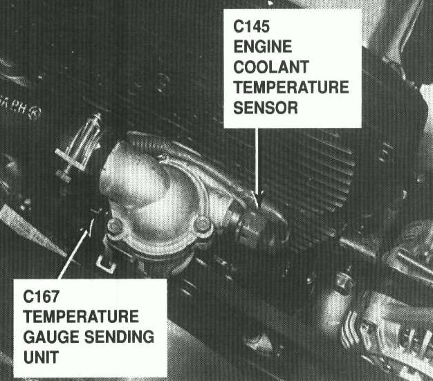 D Exact Location Sportage Coolant Temp Coolant Sensors