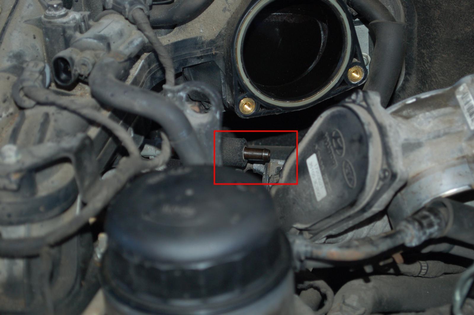 D Diy Replacing Front Left Valve Cover Dsc B on Kia Parts Diagram