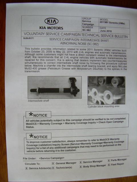 front suspension noise page 7 kia forum. Black Bedroom Furniture Sets. Home Design Ideas