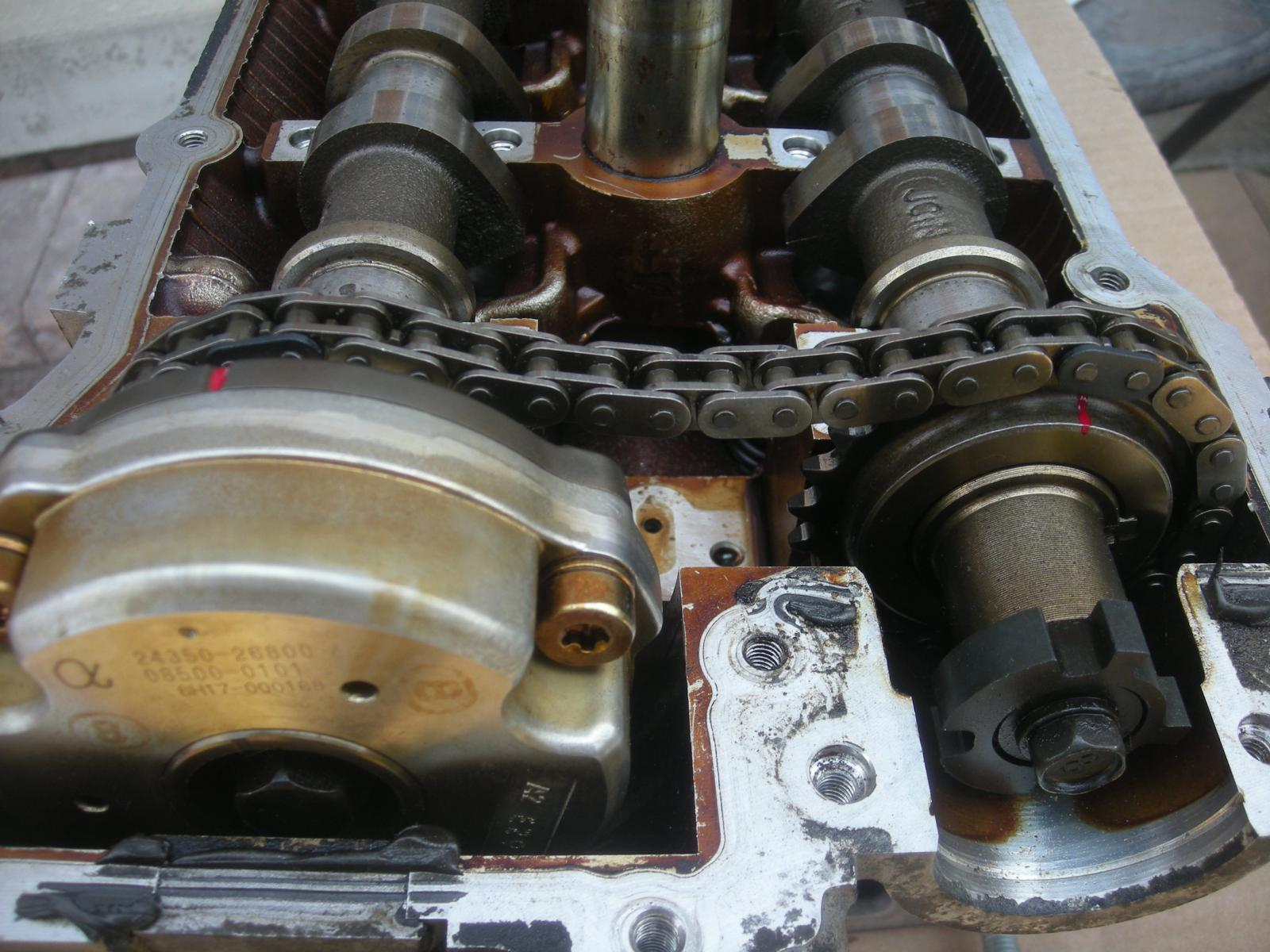 camshaft chain position