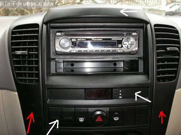 2006 Kia Sportage Radio Removal wiring diagrams image