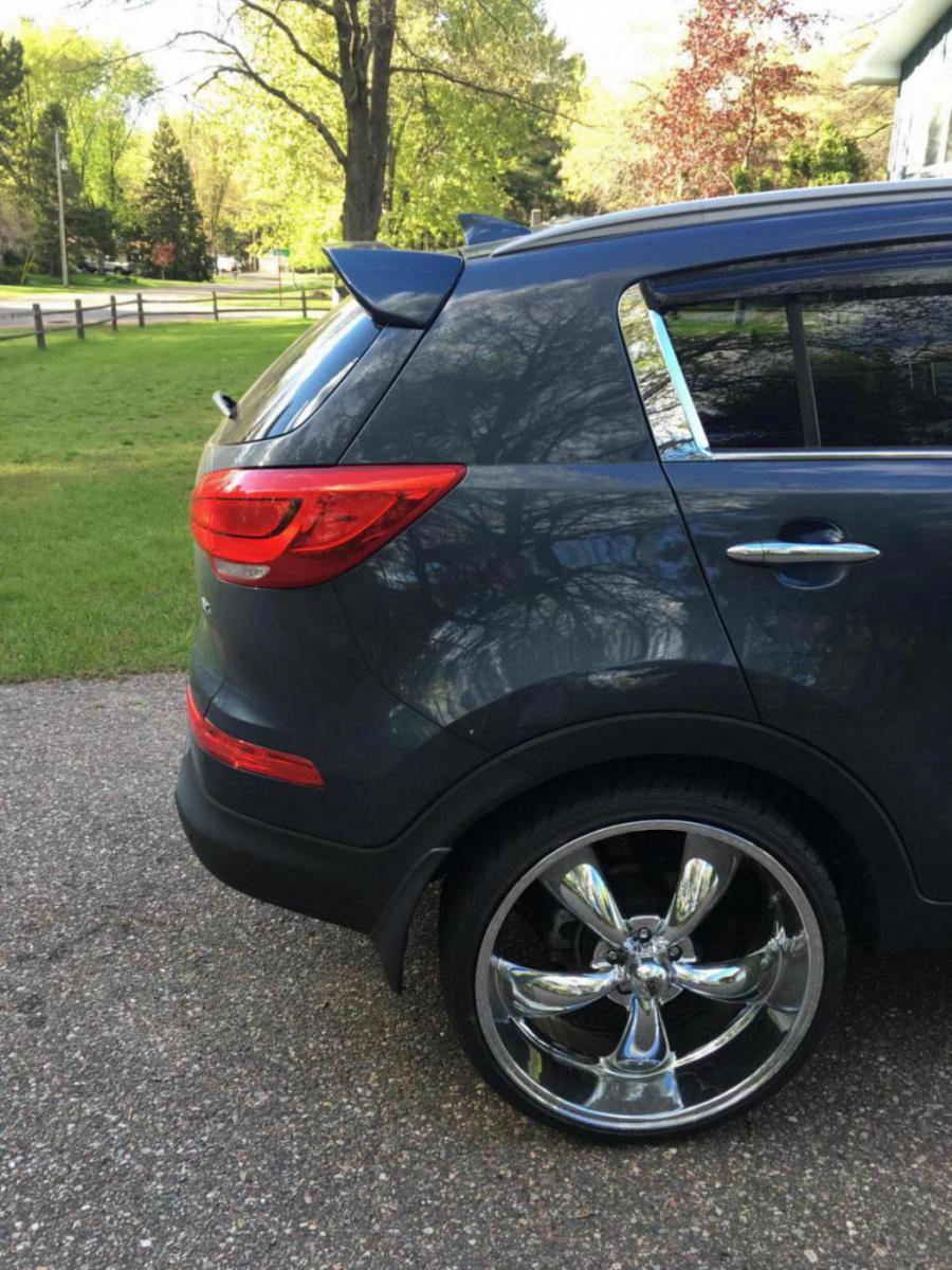 22 inch wheels fit on sportage! - Kia Forum