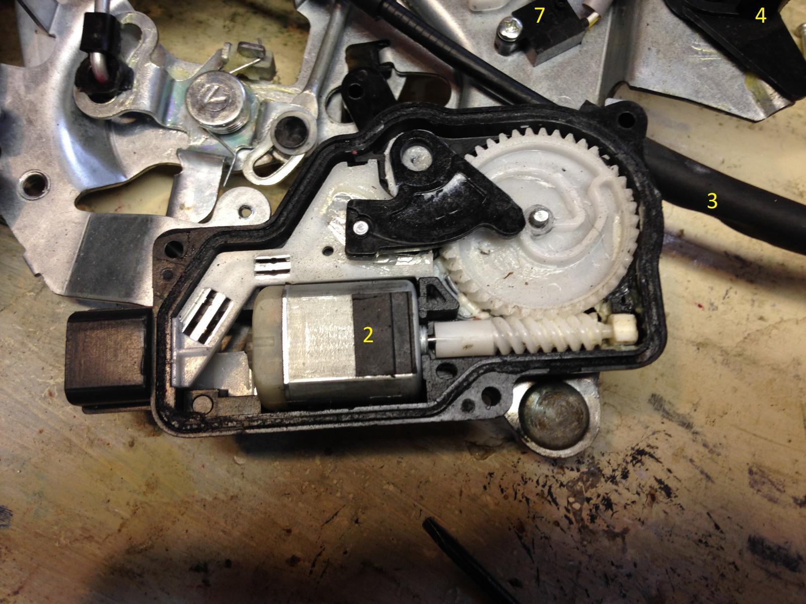 Sedona Power Sliding Door Controller Breakdown Kia Forum