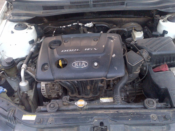 Kia Cerato 2007 Ex Engine Replacement With 2006 Engine