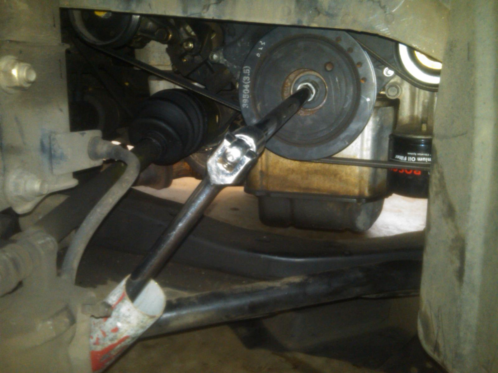 Harmonic Balancer Crank Pulley Removal How To Kia Forum 2005 Amanti Manual Troubleshooting Attached Thumbnails