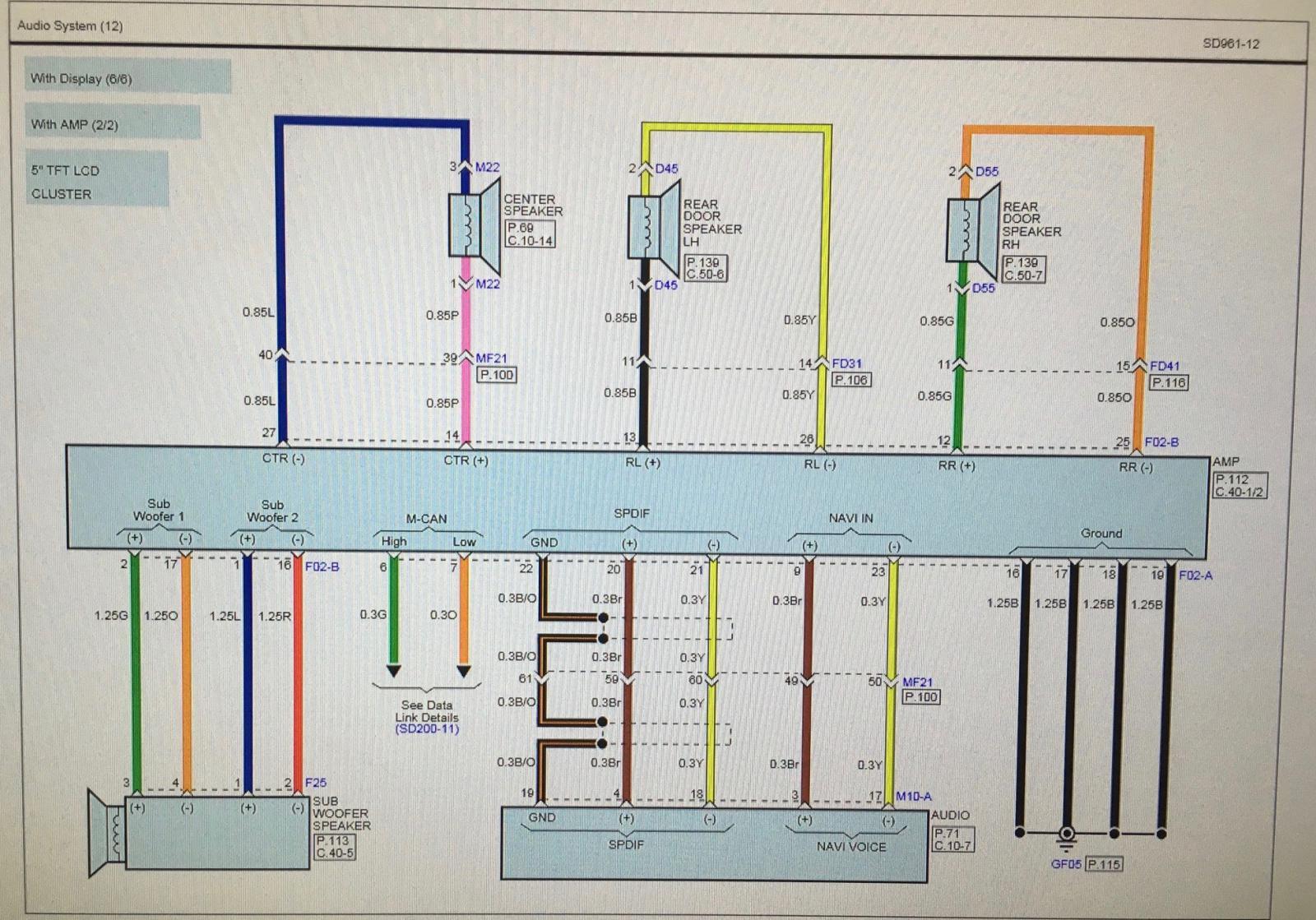 2011 Kia Sorento Backup Camera Wiring Diagram Electrical Engine Forum 2007