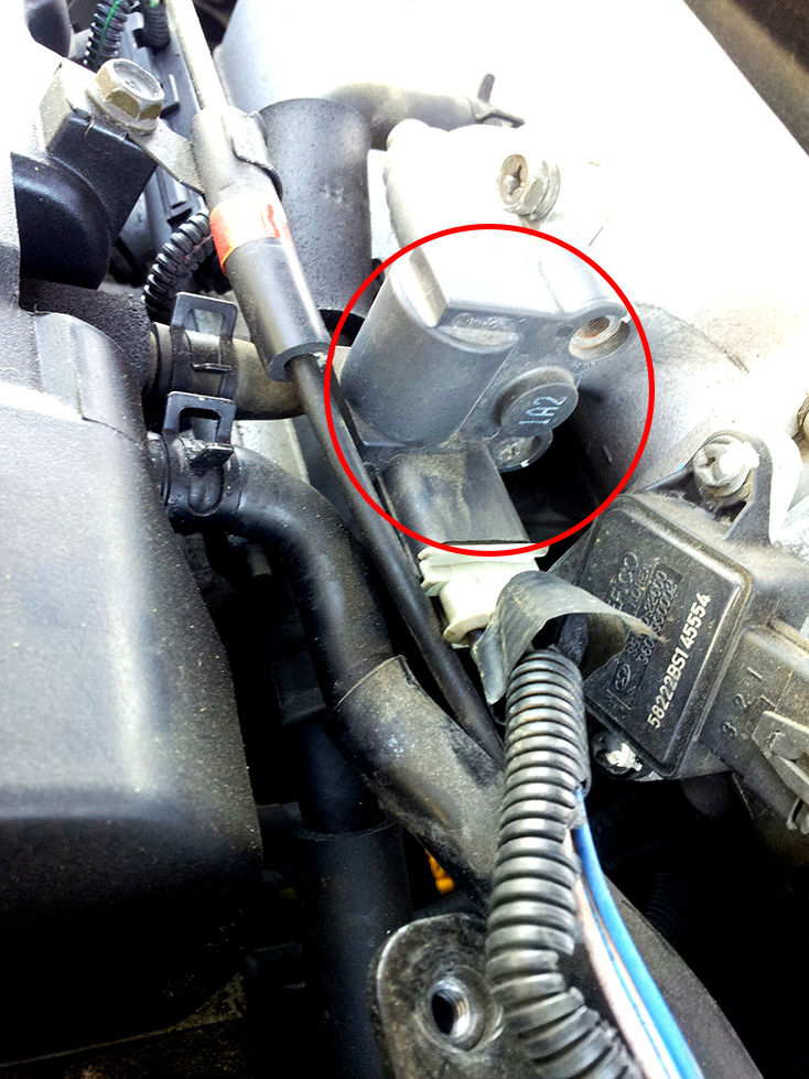 Hey Do You Know What Is This Sensor Kia Forum