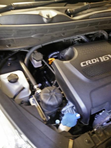 kia rio fuel filter replacement diesel secondary fuel filter - kia forum