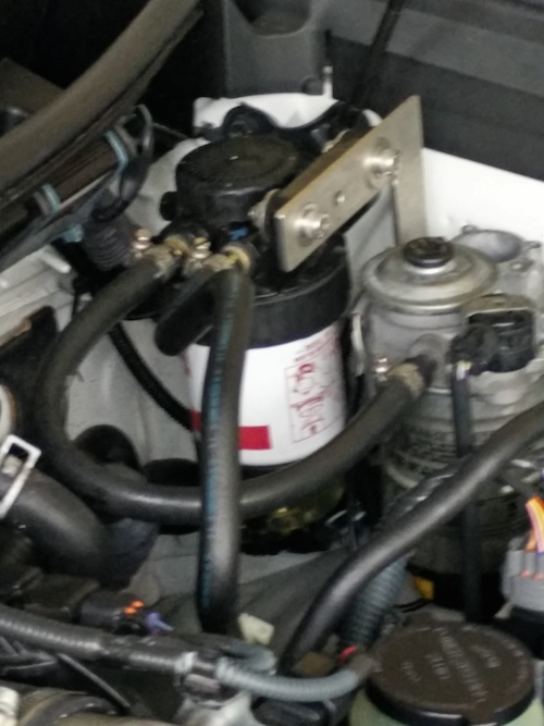 sel secondary fuel filter - Kia Forum
