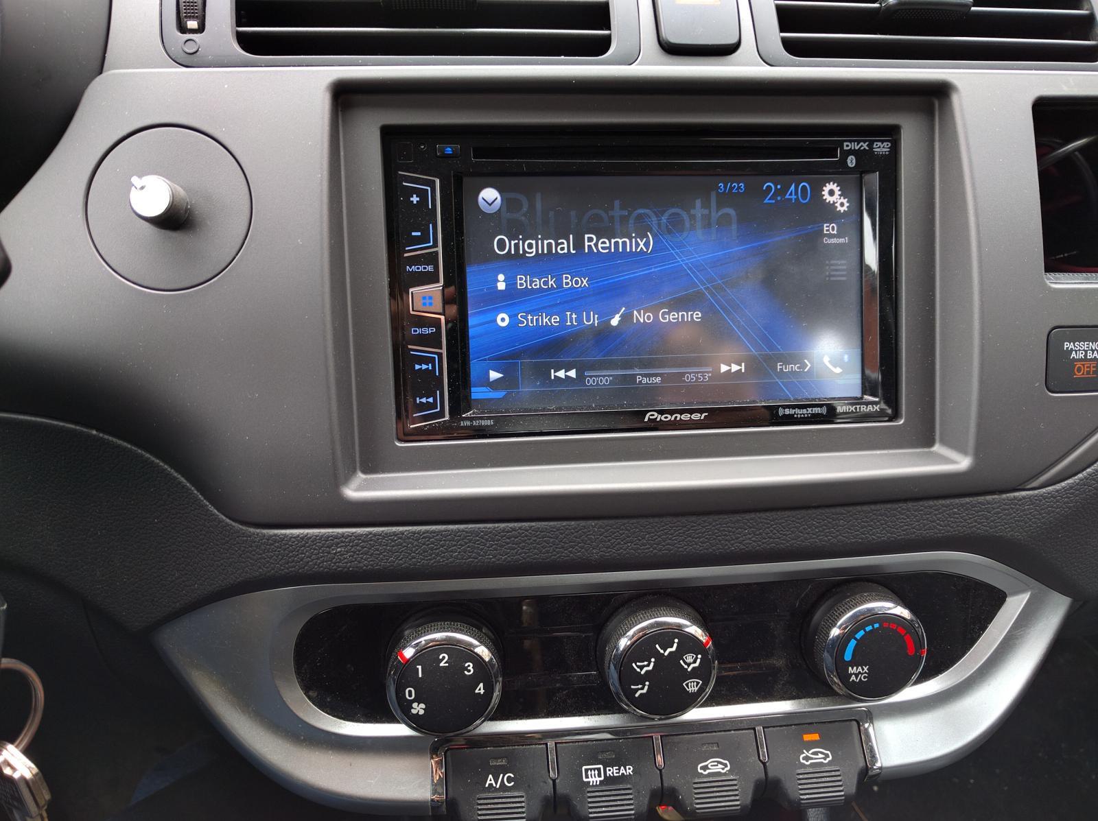 Help W Stereo Install 2013 Rio Sx 5dr Hatch Kia Forum Pioneer Car Wiring Adapters Img 20160323 144039