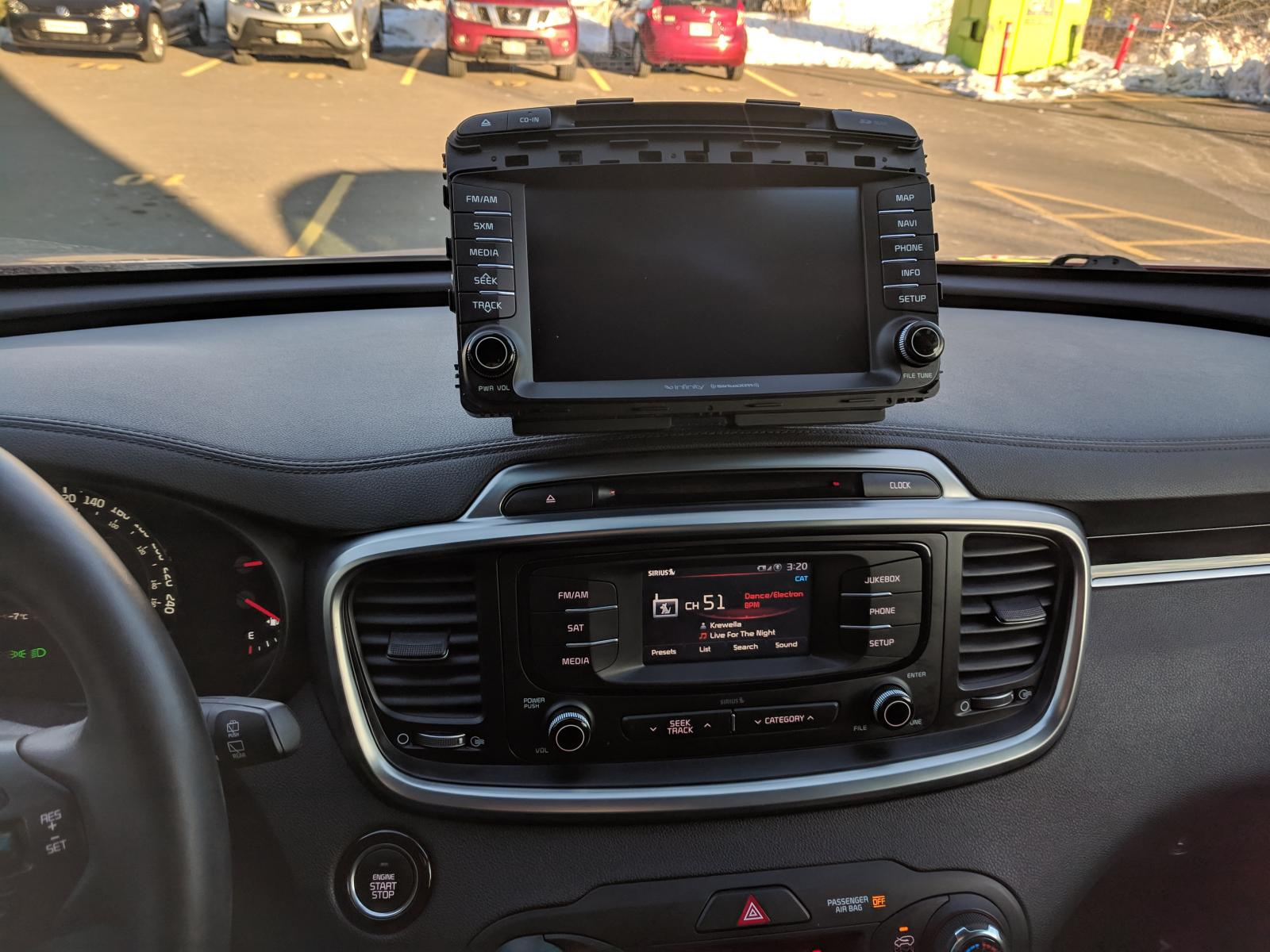2016 Sorento Ex Radio Upgrade From Uvo To Bigger Screen