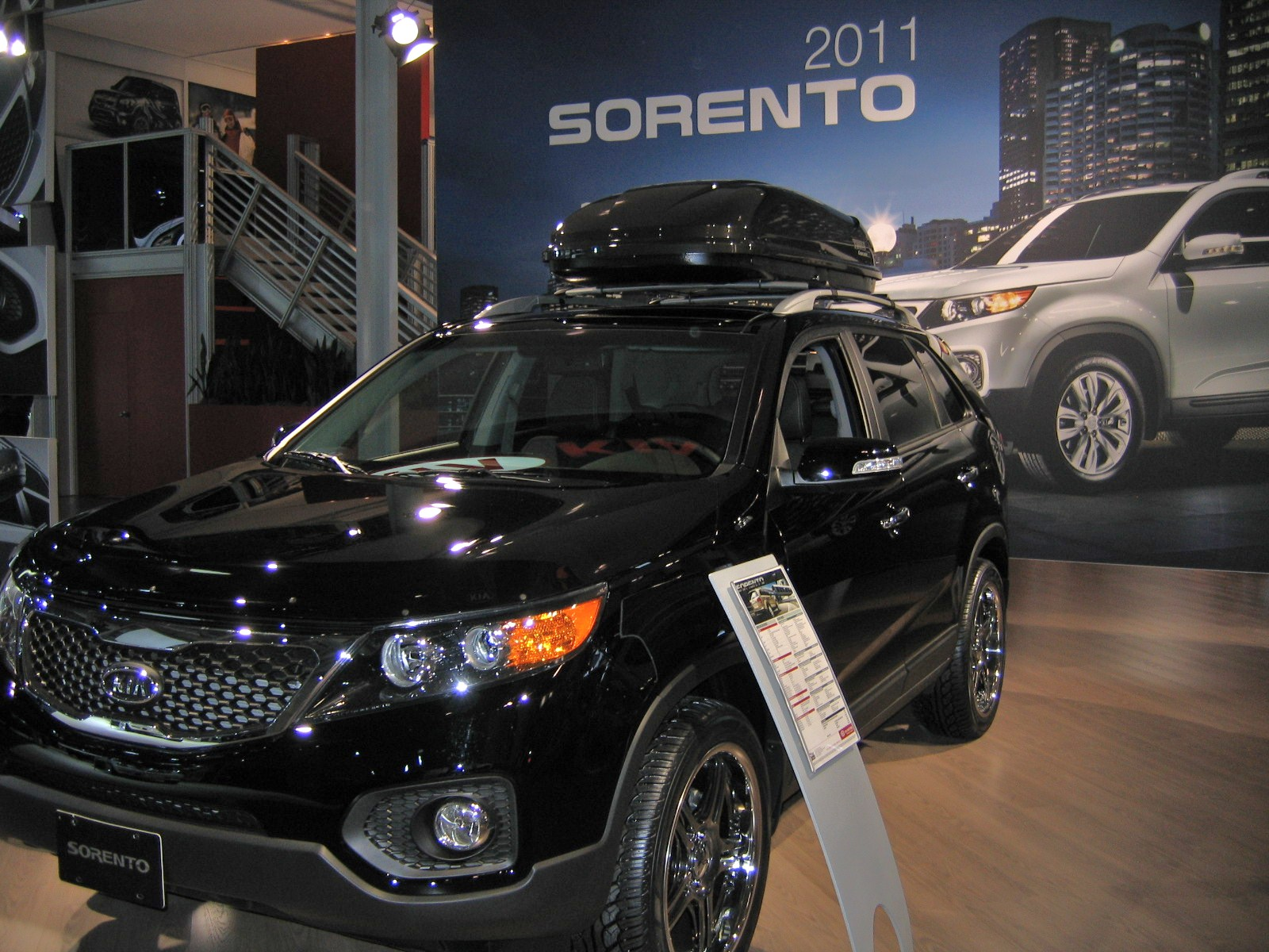 2011 Sorento has No Roof Rails with Limited Package ...
