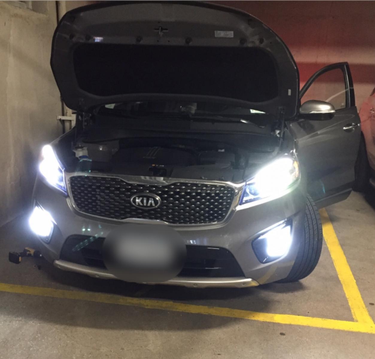 LED Turning Light-bulbs