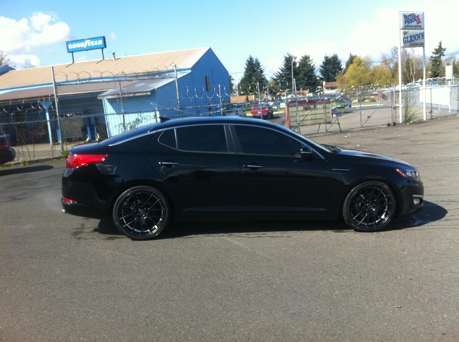 lowered optima - Kia Forum