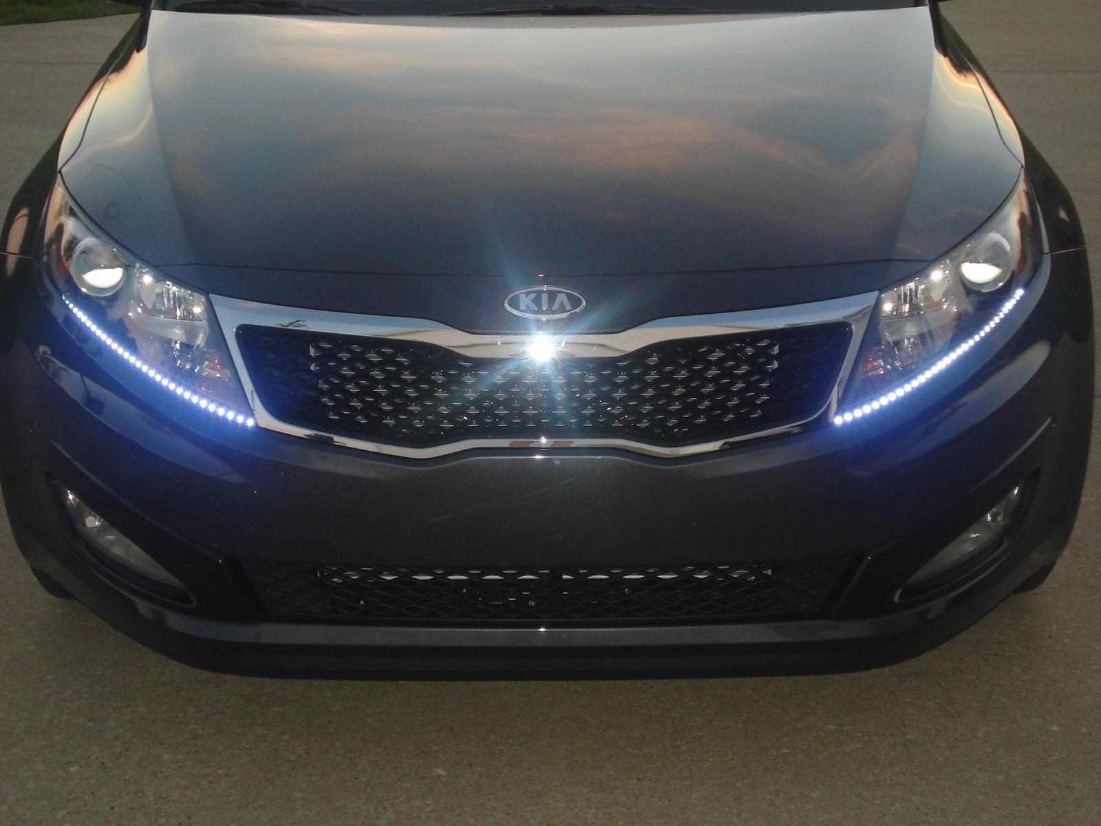 Add On LED Light Strips - What do you think? - Kia Forum