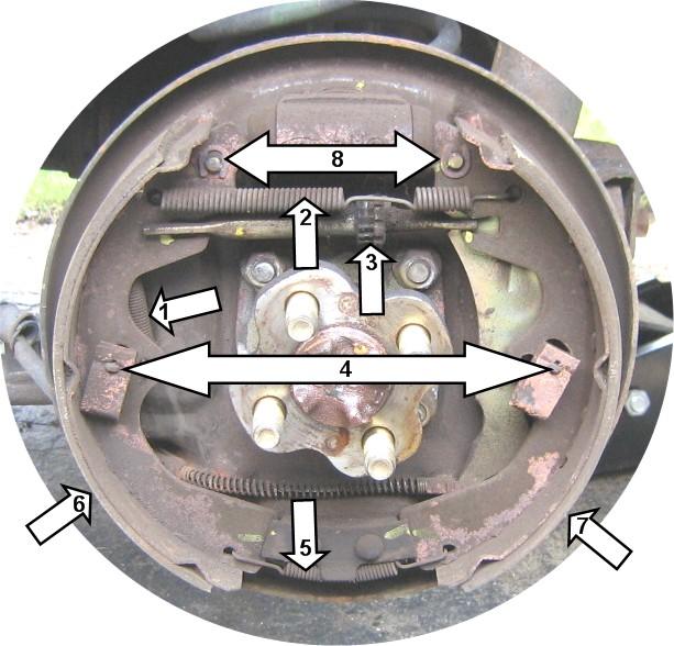 Car Starter Replacement >> fyi: 02 Conv rear drum brake tips - Kia Forum