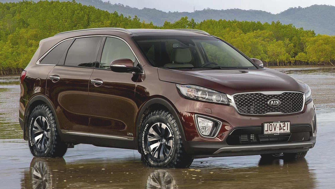Offroad 4x4 wheels and tires. Anyone done this to their Sorento? - Page 2 - Kia Forum