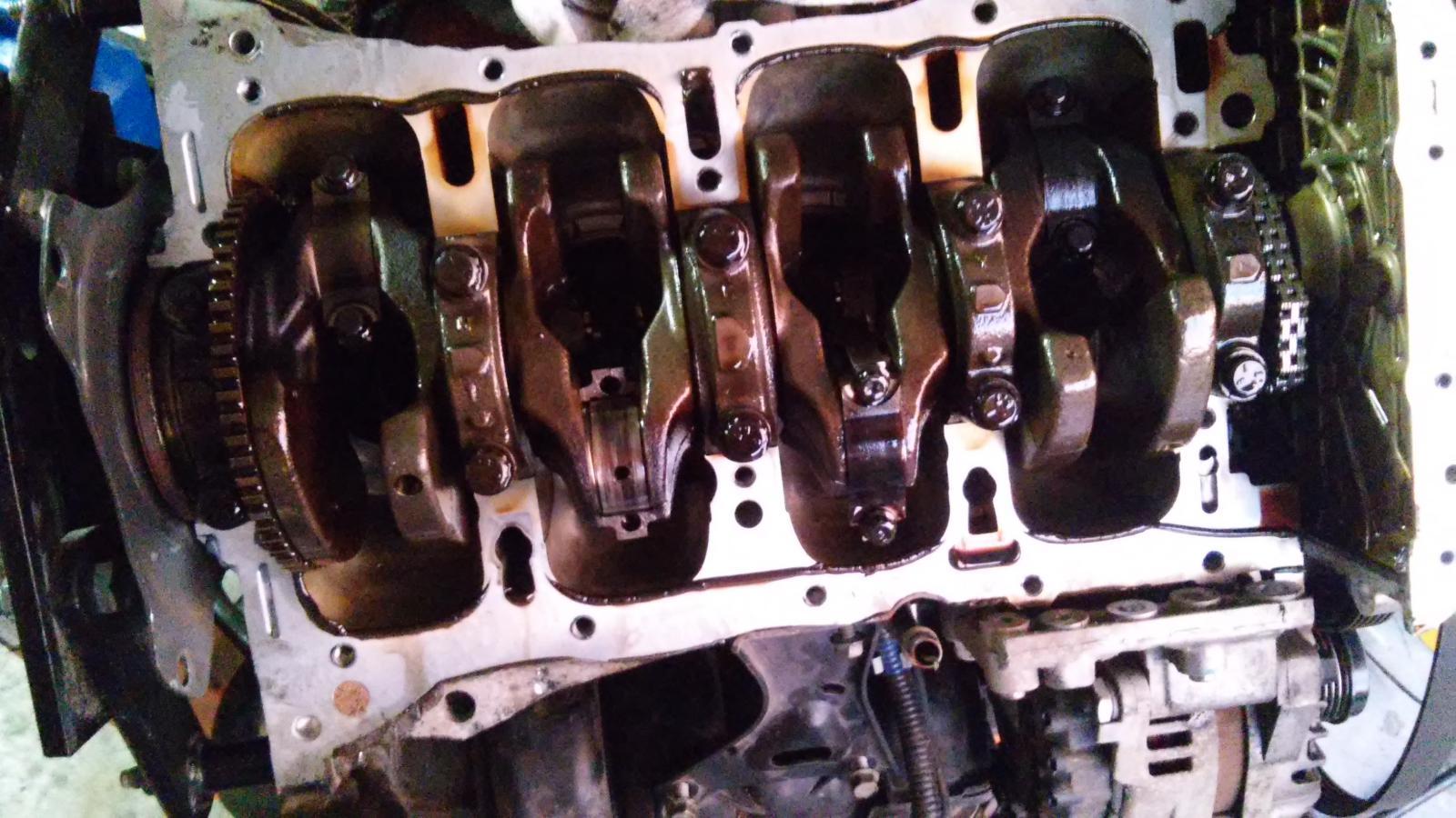 Bearing Failure At 155k On 2 4 Gdi Engine Kia Forum