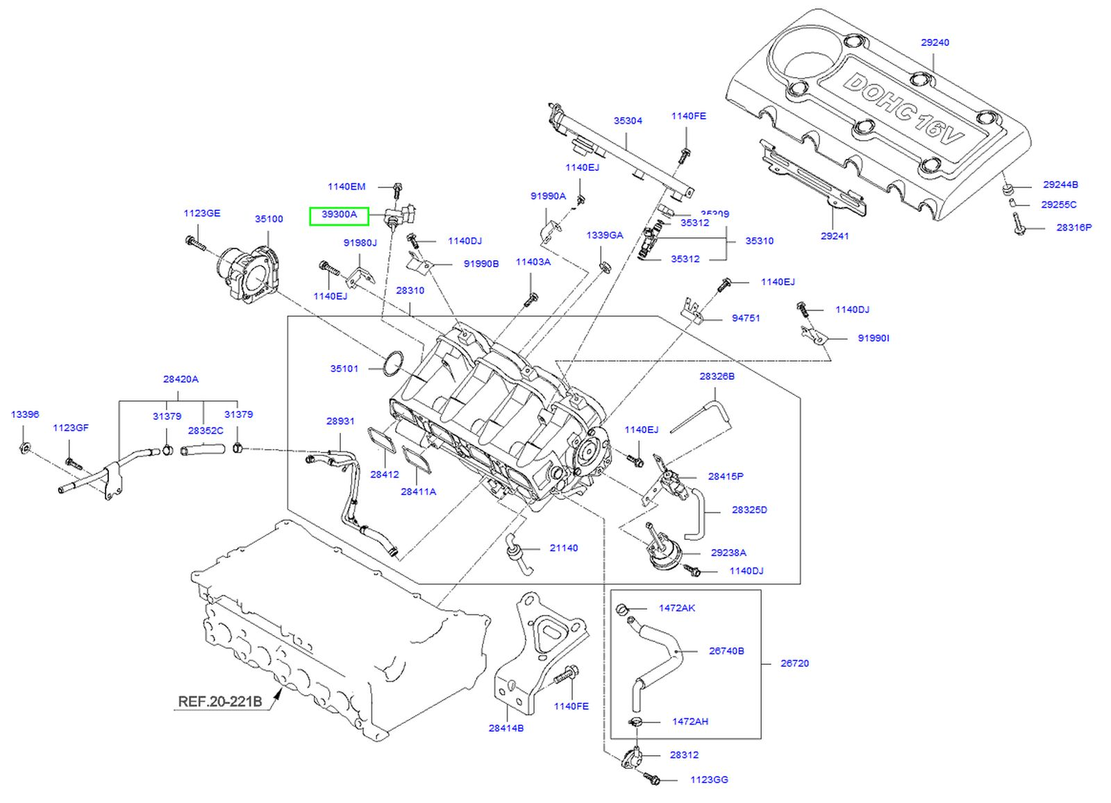 2011 kia soul parts diagram
