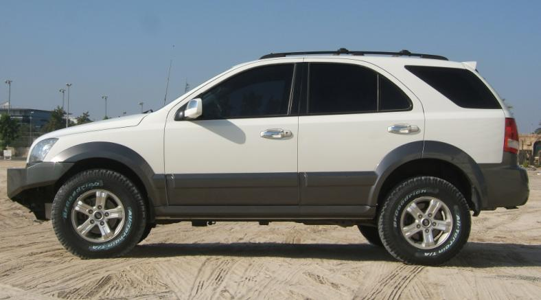 New BFG AT Offroad Tyres fitted  Kia Forum