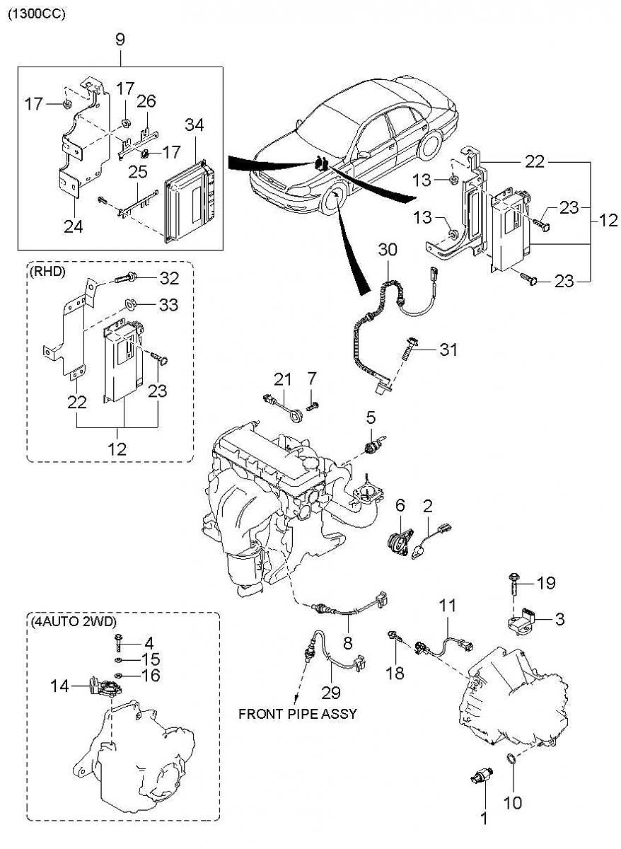 kia o2 sensor diagram  kia  free engine image for user