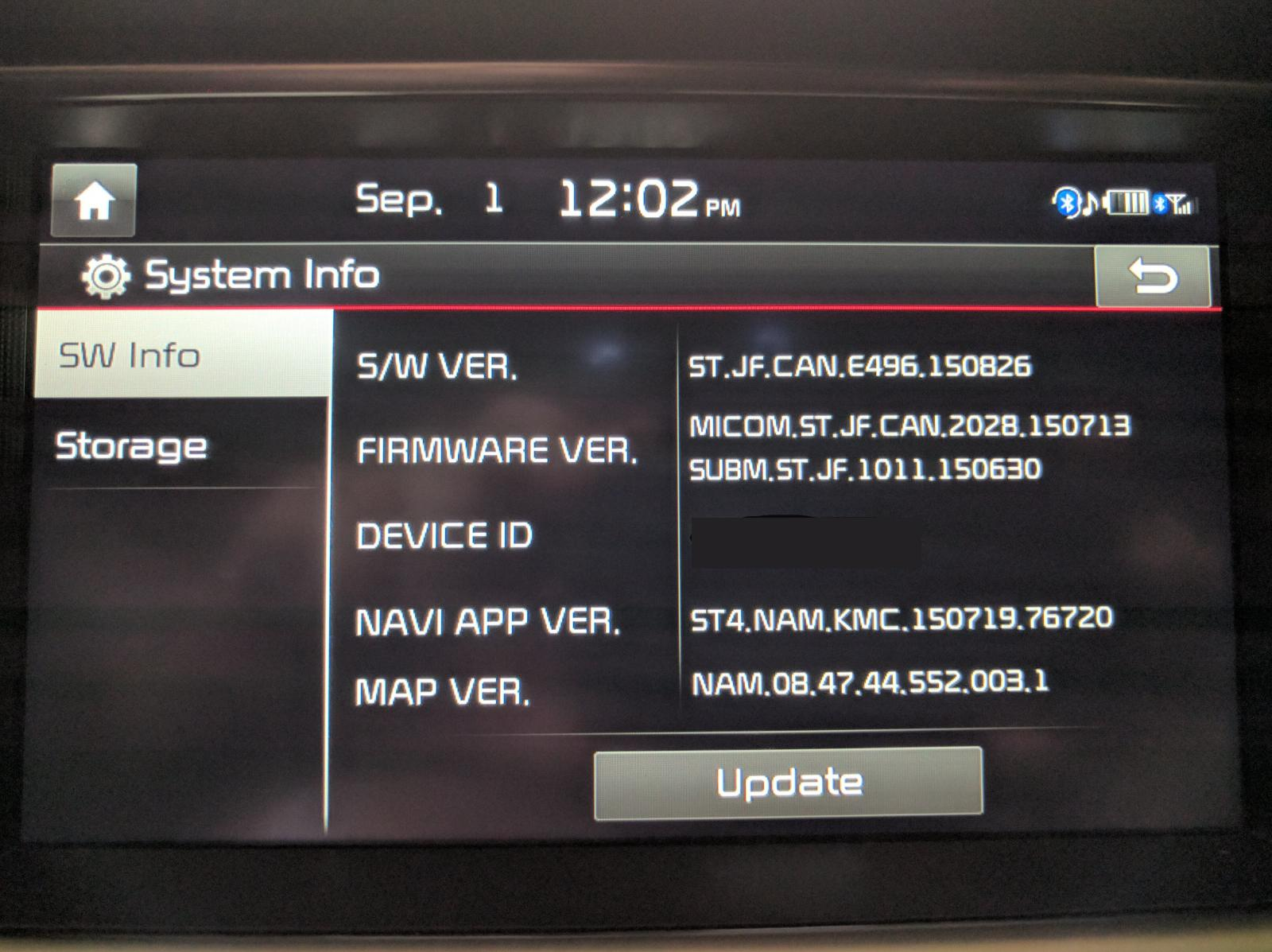 Software Update Android Auto Kia Forum