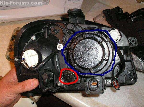 Adjusting Optima Headlights Kia Forum