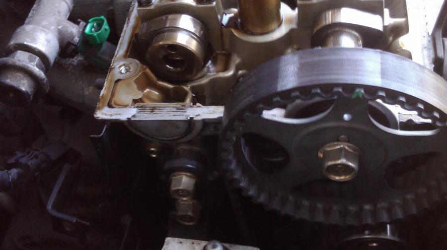 Camshaft chain position ? - Kia Forum