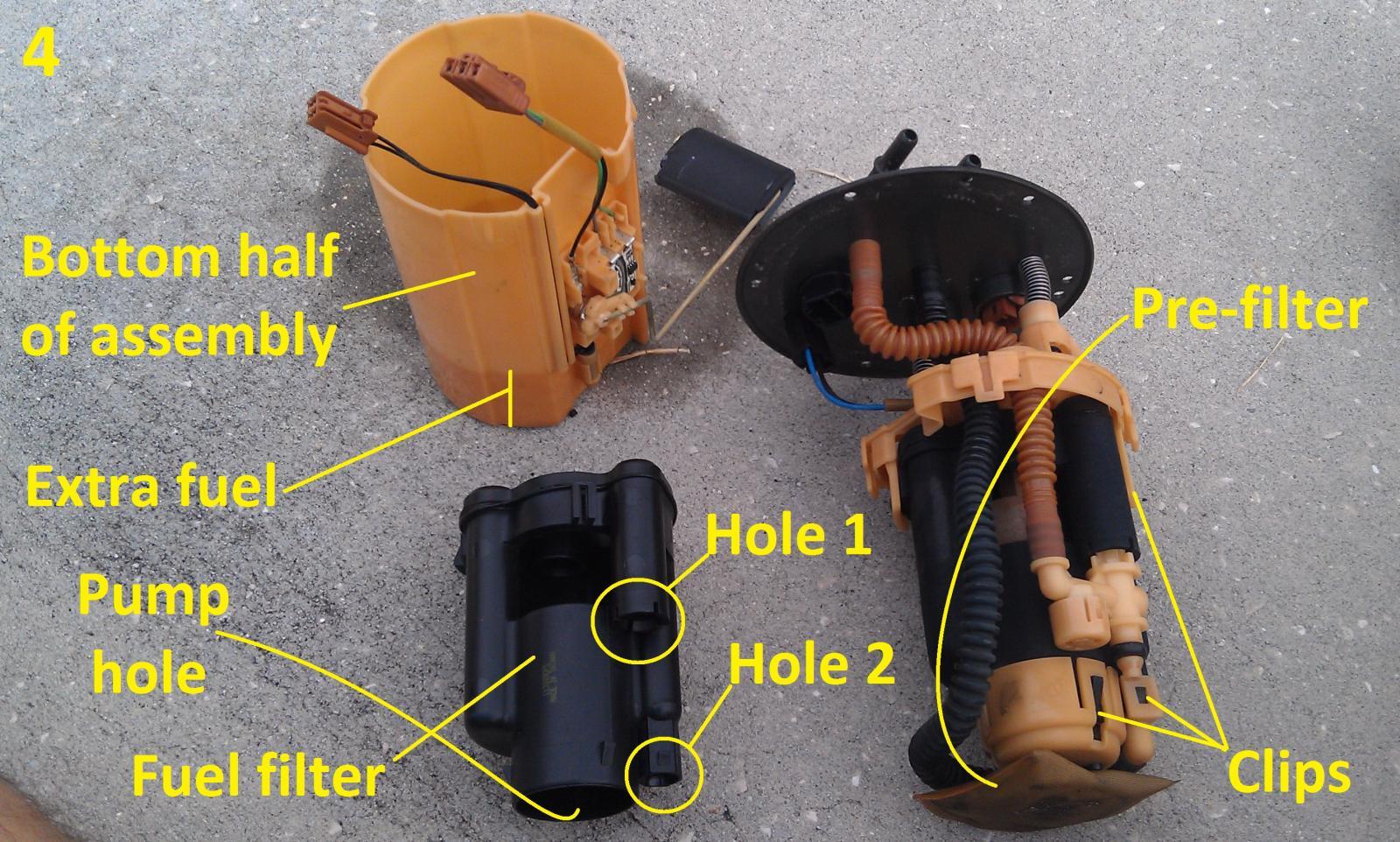 2002 Sedona Fuel Filter How to Kia Forum