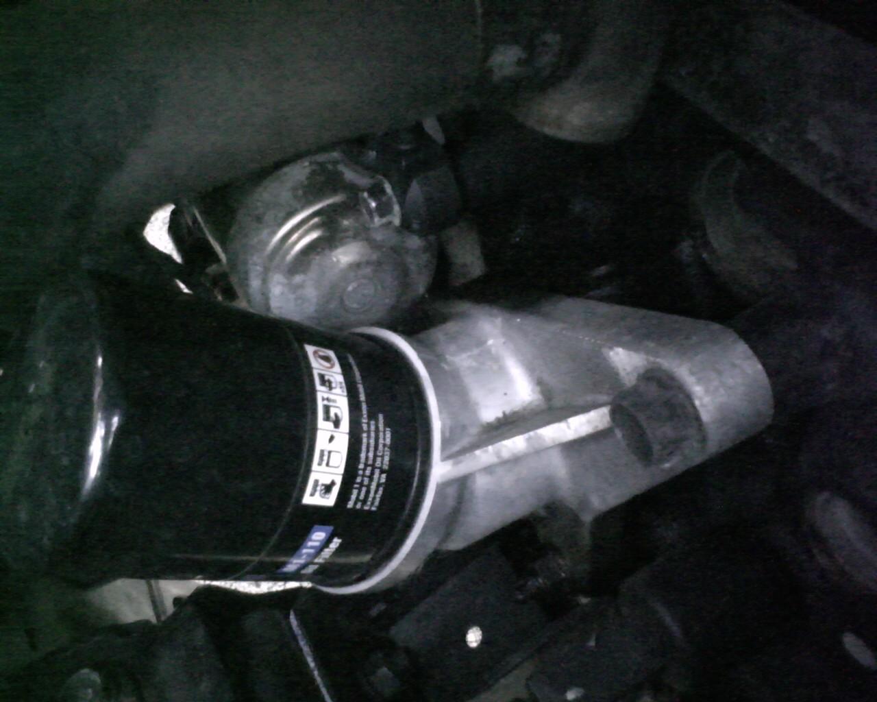 oil leak from oil filter stand - Kia Forum