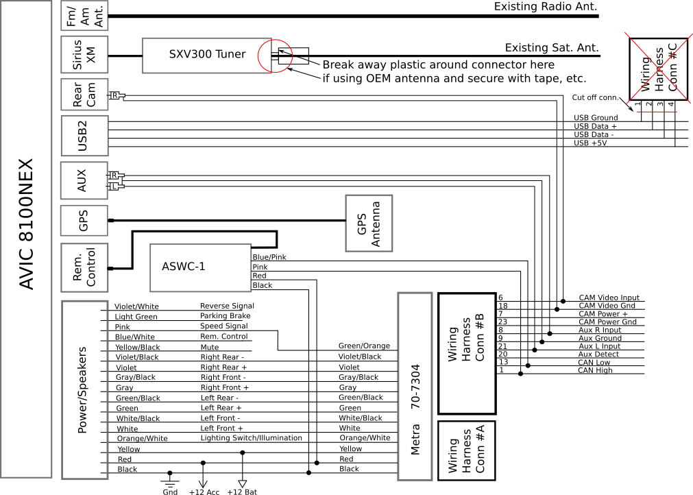 Installing A Pioneer Avic8100nex In 2016 Lx Model Kia Forumrhkiaforums: Kia Soul Wiring Diagram Camera At Gmaili.net
