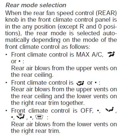 06 Sedona Rear Temperature Buttons Not Responding Kia Forum