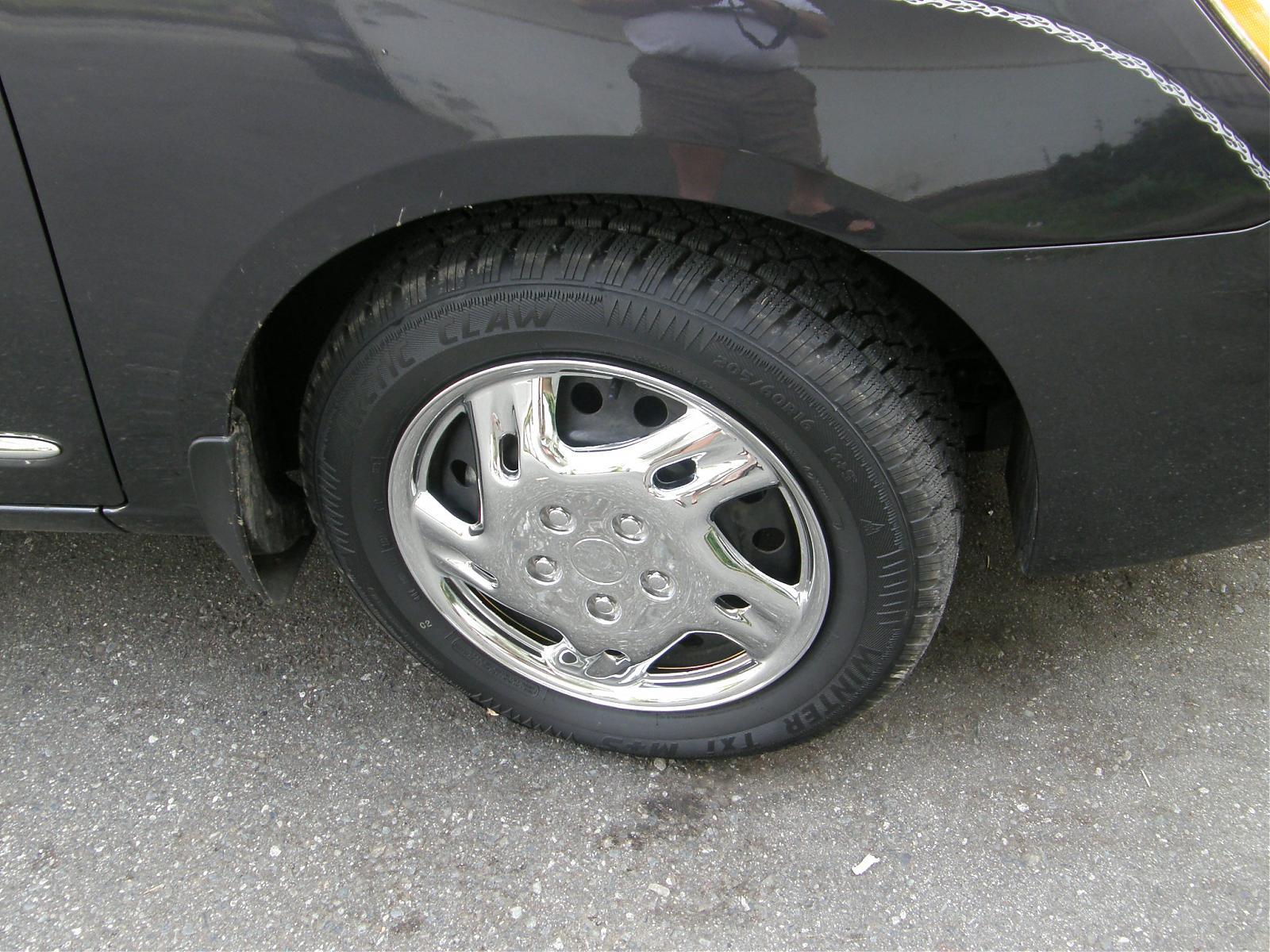 Tire size Kia Forum
