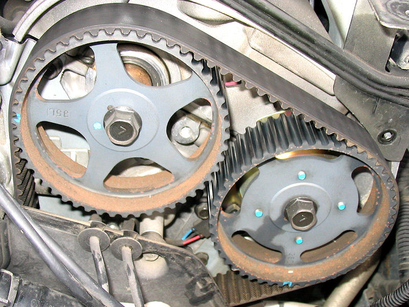 how does this timing belt look? kia forum