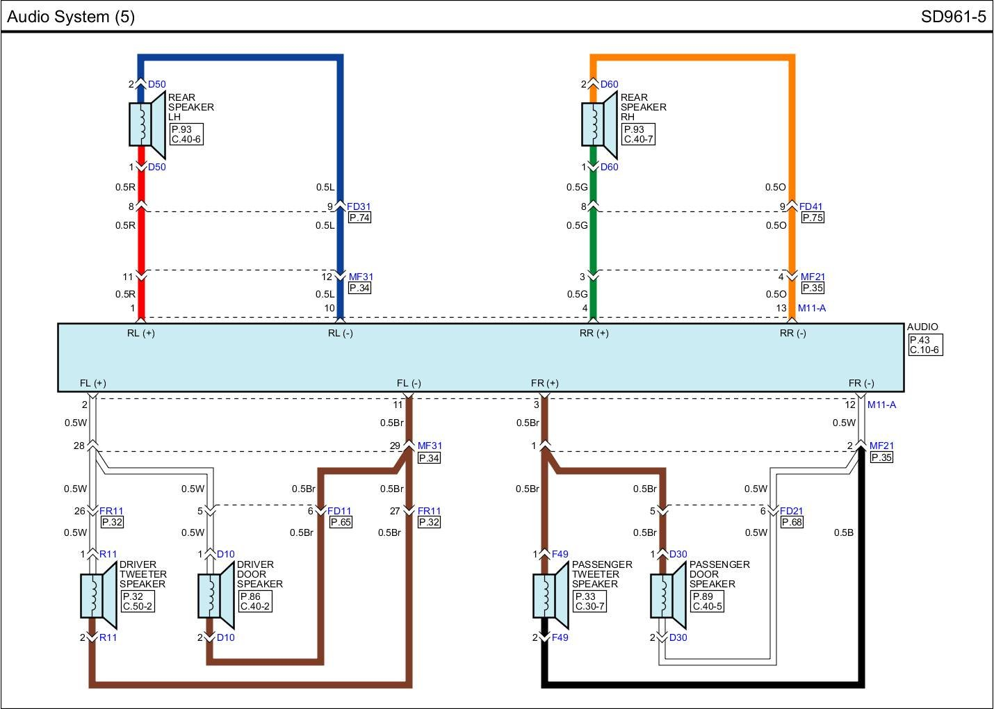 wiring diagram for 2013 kia rio sx navigation page 2 kia click image for larger version speakers jpg views 1065 size 160 3